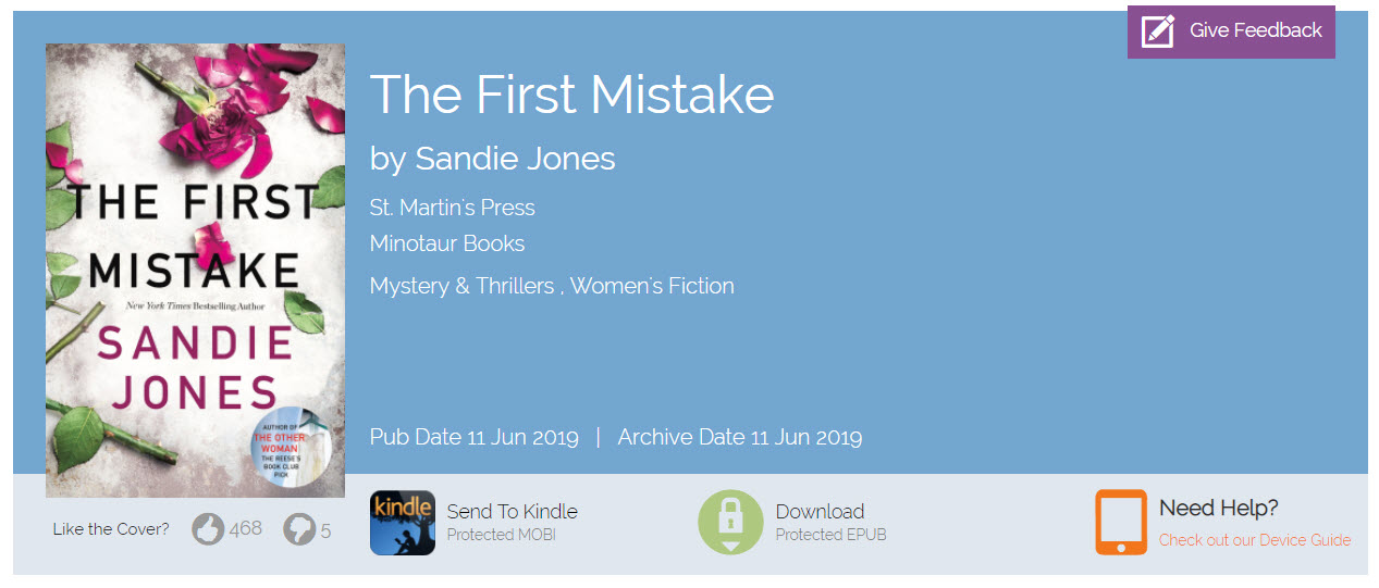 How can I download a title from NetGalley? – NetGalley